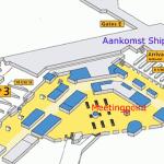 Plattegrond van Meeting Point Schiphol Airport